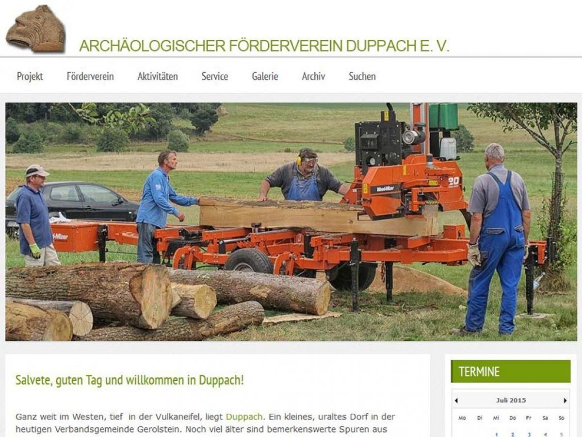 Exkursion nach Trier und neue  Homepage